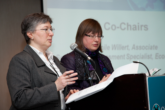 Co-Chairs Janet Bobechko and Cecile Willert